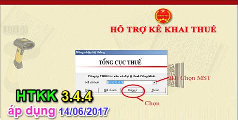 Download HTKK 3 4 4 Tải HTKK 3.4.4 mới nhất ngày 13/06/2017