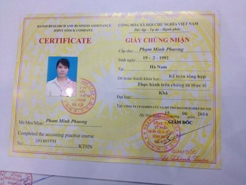 IMG 1178 e1512963827914 Lớp học chứng chỉ kế toán thực tế tại Ninh Kiều Cần Thơ