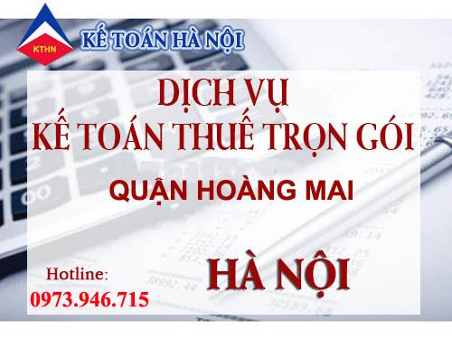 dich vu ke toan thue tron goi quan hoang mai Dịch vụ kế toán thuế trọn gói tại quận Hoàng Mai Hà Nội