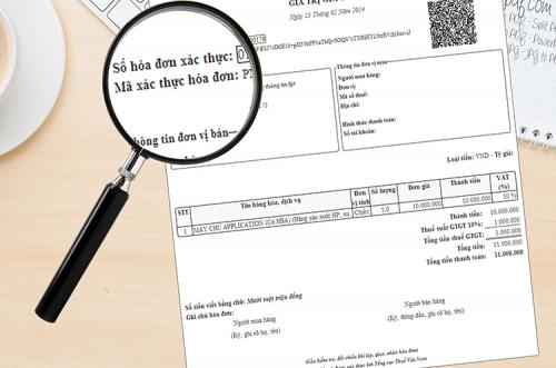 hoa don co ma xac thuc cua co quan thue la gi e1555211134667 Hóa đơn điện tử có mã của cơ quan thuế là gì? Khác với hóa đơn điện tử?