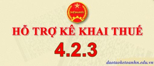 htkk 423 Tải phần mềm hỗ trợ kê khai thuế HTKK 4.2.3 mới nhất 2019