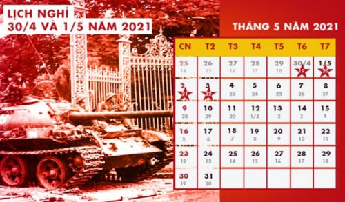 nghi30 4 e1615013210650 Lịch nghỉ Giỗ Tổ Hùng Vương, 30/4 và 1/5/2021