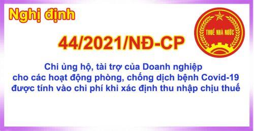Nghidinh44 3 2021 e1625729808113 Nghị định 44/2021/NĐ CP chi phí được trừ thuế TNDN 2021